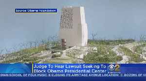 Opponents Seek To Block Obama Center From Jackson Park [Video]