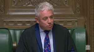 Speaker John Bercow Calls Tommy Robinson A 'Loathsome, Obnoxious, Repellent Individual' [Video]