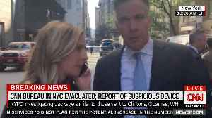 CNN's New York offices evacuated after reports of a suspicious device [Video]