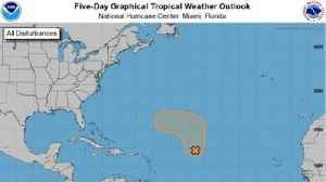 Atlantic disturbance could form into a tropical depression this weekend, according to forecasters [Video]