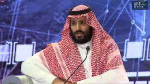 News video: Saudi Crown Prince says 'justice will prevail' in Khashoggi case