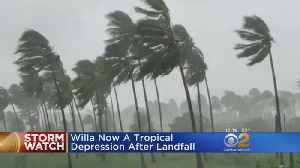 Hurricane Willa Weakens To Tropical Depression After Landfall [Video]