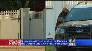 Suspicious Devices Sent To The Obamas, The Clintons And CNN's New York Offices [Video]