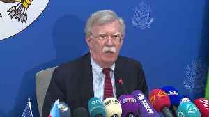 U.S. has yet to decide on more Russia sanctions - Bolton [Video]