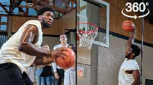 The Joel Embiid 360-Degree Experience [Video]