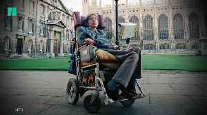 Stephen Hawking's Items Up For Auction [Video]