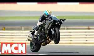 Onboard with Kawasaki's Ninja H2 | Motorcyclenews.com [Video]