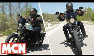 Harley Iron 1200 and Forty-Eight | First Ride | Motorcyclenews.com [Video]
