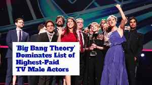 'Big Bang Theory' Dominates List of Highest-Paid TV Male Actors [Video]