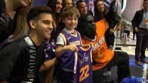 6-Year-Old Treated Like VIP by Phoenix Suns After No One Shows Up to Birthday [Video]