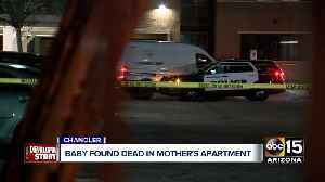 Baby found dead in mother's apartment in Chandler [Video]