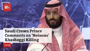 The Saudi Prince Speaks Out About Reporter Killing [Video]