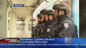 NYPD Steps Up Security Over Suspicious Packages [Video]