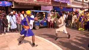 Sikhs congregate for religious leader's birth anniversary in northern India [Video]