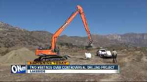 News video: Meetings set to discuss Lakeside sand mining project