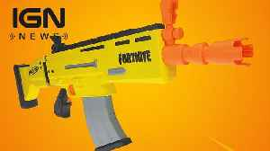 Fortnite Real-Life Nerf Blaster Coming Next Year [Video]