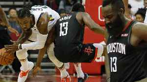 James Harden Exits EarlyWith Hamstring Injury: Are The Houston Rockets Doomed? [Video]
