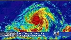 Guam, Mariana Islands Hammered By Super Typhoon Yutu [Video]