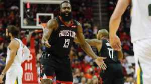 James Harden to Miss Rockets' Next Two Games With Hamstring Strain [Video]