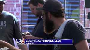 Goodfellas Pizzeria retrains staff after Barstool Sports review  Video  e98ab6f06