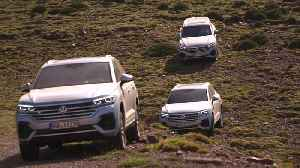 Volkswagen Touareg Driving in Marocco [Video]