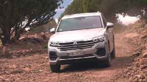 Volkswagen Touareg in Marocco off road [Video]