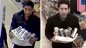 David Schwimmer look-alike wanted for stealing beer [Video]