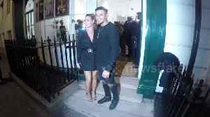 Love Island stars Megan Barton-Hanson and Wes Nelson arrive at exhibition launch [Video]