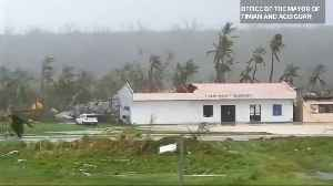U.S. Pacific Islands devastated by Super Typhoon Yutu [Video]