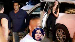 Salman Khan arrives with Lulia Vantur at Aayush Sharma's birthday bash; Watch Video | FilmiBeat [Video]