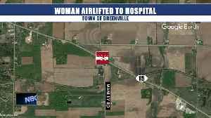 Deputies: Woman airlifted after head-on crash in Town of Greenville [Video]