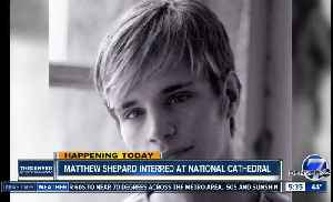 Matthew Shepard Interred at National Cathedral [Video]