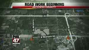 West Michigan Avenue in Jackson County will be closed for road work [Video]