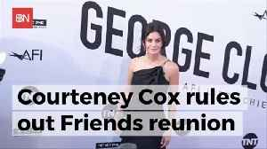 Courtney Cox Wants No More Friends [Video]