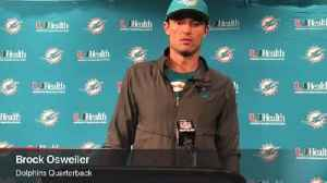 Dolphins' Brock Osweiler knew DeVante Parker would have good game, says he was 'hungry' [Video]
