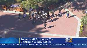 Seton Hall Students Hold Sit-In [Video]