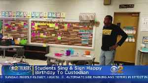 Class Signs 'Happy Birthday' For Deaf Custodian [Video]