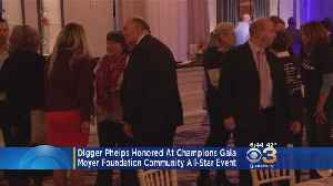 6th Annual 'Champions For Children' Honored Former Notre Dame Basketball Coach Digger Phelps [Video]