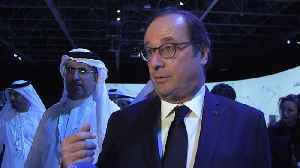 """""""We must not wait"""" - Former French President Hollande urges for green commitment at WGES [Video]"""