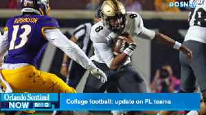 College football: How are Florida teams doing so far this season? [Video]