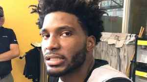 Justise Winslow on Heat defenisve possibilities [Video]