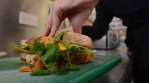 Cafe Launches New Vegan Sandwich Made From IRN BRU [Video]