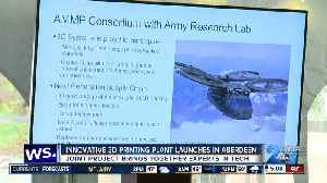 3-D printing plant for military weapons opens in Aberdeen [Video]