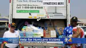 Donations For Hurricane Victims Collected In Arvada [Video]