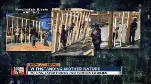Habitat for Humanity homes in Panama City stand strong against Hurricane Michael's wrath [Video]