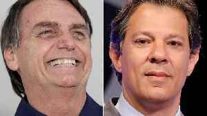 News video: Polls show Bolsonaro's lead slipping ahead of Brazil's Presidential election