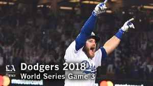 The Dodgers win Game 3 of the World Series [Video]
