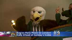 Eagles fans Flock To London Ahead of Sunday's Game [Video]