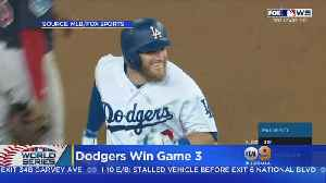 Dodgers Win Late, Late Late Show, Cut Red Sox Lead To 2-1 [Video]