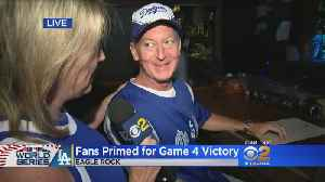 Dodgers Fans Primed For Game 4 Victory [Video]